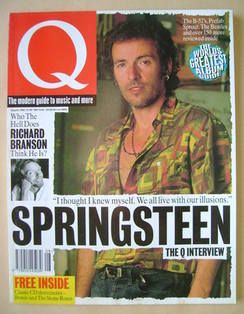 <!--1992-08-->Q magazine - Bruce Springsteen cover (August 1992)
