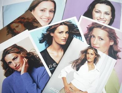 Jacqui E clothing brochures - Yasmin Le Bon