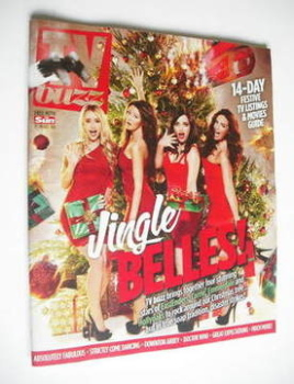 TV Buzz magazine - Jingle Belles cover (17 December 2011)