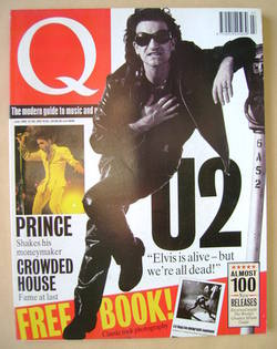<!--1992-07-->Q magazine - Bono cover (July 1992)