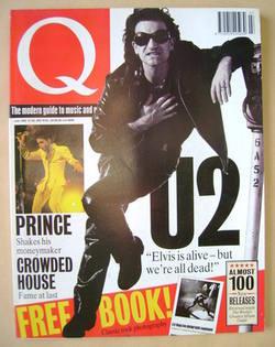 <!--1992-07-->Q magazine - Bono cover (July 1992)