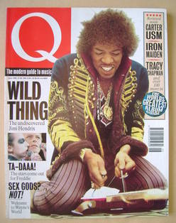 Q magazine - Jimi Hendrix cover (June 1992)