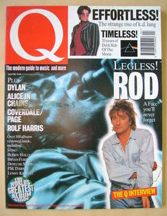 <!--1993-04-->Q magazine - Rod Stewart cover (April 1993)