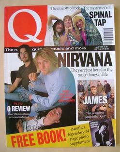 <!--1992-04-->Q magazine - Nirvana cover (April 1992)