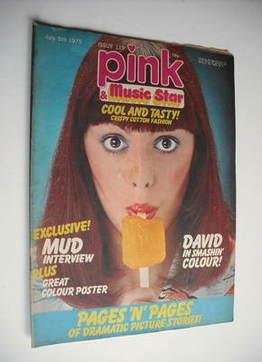 Pink magazine - 5 July 1975