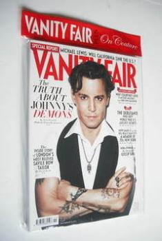 Vanity Fair magazine - Johnny Depp cover (November 2011)