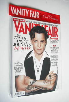 <!--2011-11-->Vanity Fair magazine - Johnny Depp cover (November 2011)