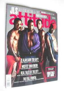 <!--2011-12-->Attitude magazine - JLS cover (December 2011)