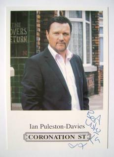 Ian Puleston-Davies autograph