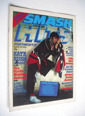 <!--1979-04-05-->Smash Hits magazine - Jimmy Pursey cover (5-18 April 1979)