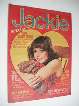 <!--1977-07-09-->Jackie magazine - 9 July 1977 (Issue 705)