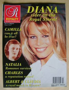 Royalty Monthly magazine - Claudia Schiffer cover (Vol.12 No.2)