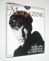 <!--2011-12-24-->The Times magazine - Benedict Cumberbatch cover (24 Decemb