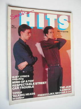 <!--1981-03-19-->Smash Hits magazine - Orchestral Manoeuvres In The Dark co