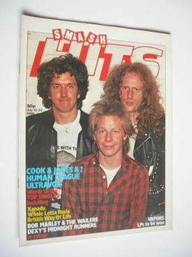<!--1980-07-10-->Smash Hits magazine - Cook & Jones cover (10-23 July 1980)