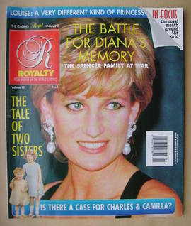 Royalty Monthly magazine - Princess Diana cover (Vol.15 No.4)