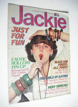 <!--1977-05-14-->Jackie magazine - 14 May 1977 (Issue 697)