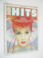 <!--1982-05-27-->Smash Hits magazine - Toyah cover (27 May - 9 June 1982)