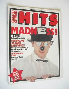 <!--1982-07-22-->Smash Hits magazine - Lee Thompson cover (22 July - 4 Augu