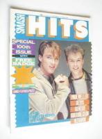 <!--1982-09-30-->Smash Hits magazine - Martin Kemp and Gary Kemp cover (30 September - 13 October 1982)