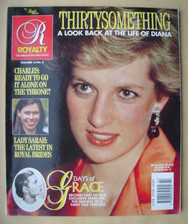 Royalty Monthly magazine - Princess Diana cover (Vol.13 No.2)