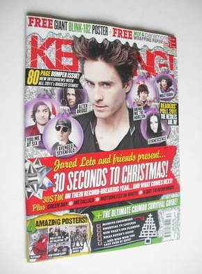 <!--2011-12-24-->Kerrang magazine - Jared Leto cover (24 December 2011 - Is