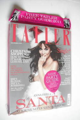 <!--2011-12-->Tatler magazine - December 2011 - Anna Friel cover