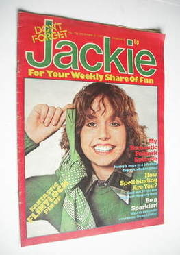 <!--1977-11-05-->Jackie magazine - 5 November 1977 (Issue 722)