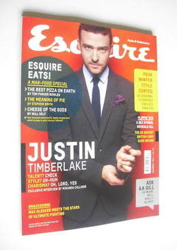 <!--2011-12-->Esquire magazine - Justin Timberlake cover (December 2011)