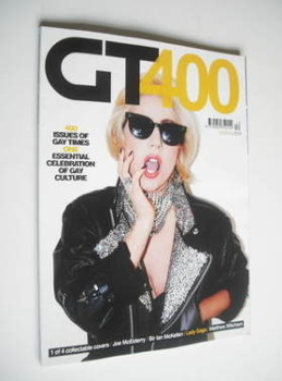 Gay Times magazine - Lady Gaga cover (December 2011)