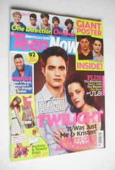 Teen Now magazine - Robert Pattinson and Kristen Stewart cover (25 November 2011 - 3 January 2012)
