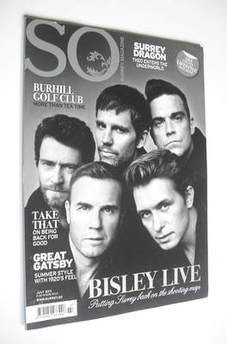 So Surrey magazine - Take That cover (July 2011)