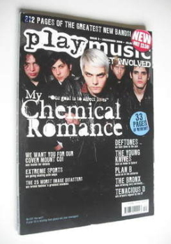 PlayMusic magazine - My Chemical Romance cover (December 2006 - Issue 2)