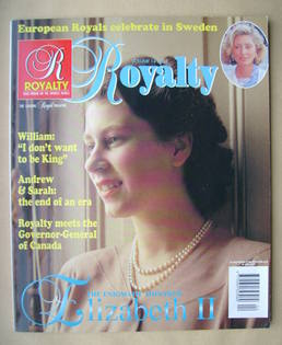 Royalty Monthly magazine - The Queen cover (Vol.14 No.4)