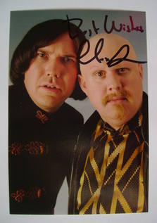 Alex MacQueen autograph (hand-signed photograph)