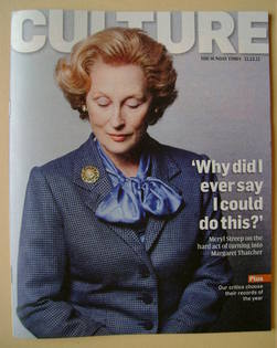 <!--2011-12-11-->Culture magazine - Meryl Streep cover (11 December 2011)