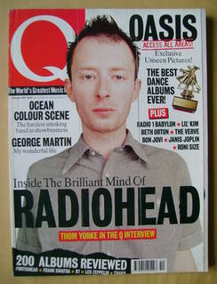 <!--1997-10-->Q magazine - Thom Yorke cover (October 1997)