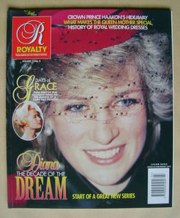 Royalty Monthly magazine - Princess Diana cover (Vol.13 No.3)