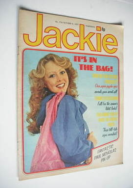 <!--1977-10-08-->Jackie magazine - 8 October 1977 (Issue 718)