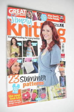 Simply Knitting magazine (Issue 82 - July 2011)