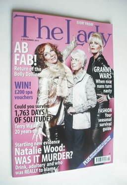 <!--2011-12-02-->The Lady magazine (2 December 2011 - Joanna Lumley, Jennif