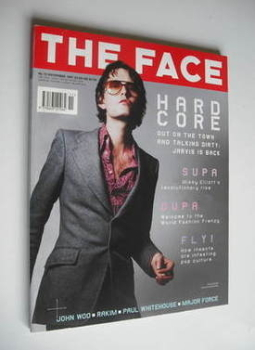 The Face magazine - Jarvis Cocker cover (November 1997 - Volume 3 No. 10)