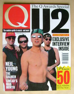 Q magazine - U2 cover (January 1993)