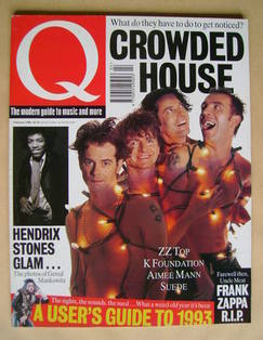 Q magazine - Crowded House cover (February 1994)