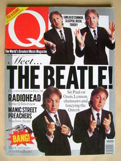 <!--1997-06-->Q magazine - Paul McCartney cover (June 1997)