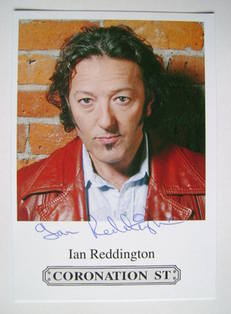 Ian Reddington autograph