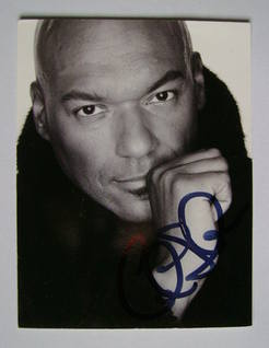 Colin Salmon autograph (hand-signed photograph)