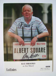 Ray Brooks autographed photo