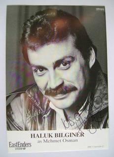 Haluk Bilginer autograph (ex EastEnders actor)
