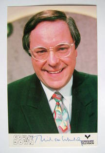 Richard Whiteley autograph